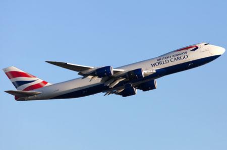 Duxford 747 flypast