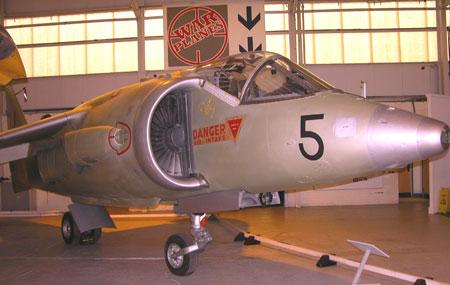 RAF Museum Cosford Kestrel