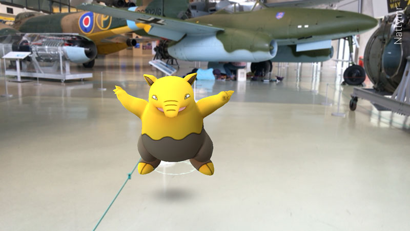 Pokemon at RAF Museum