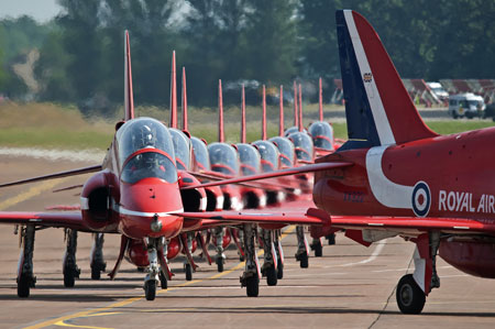 Red Arrows RIAT