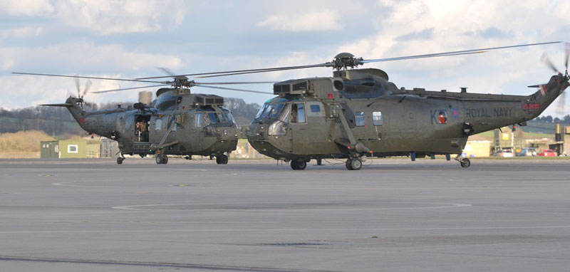 RNAS Yeovilton Sea King's