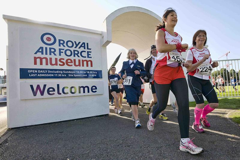 Spitfire 10k Run RAF Museum