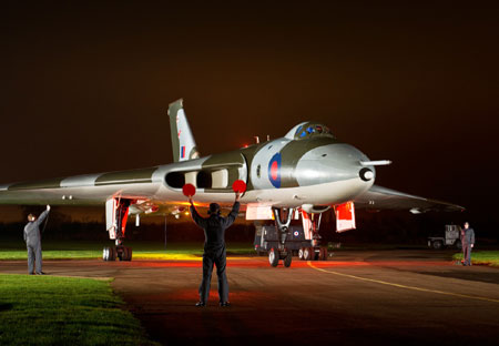 Vulcan at Wellesbourne