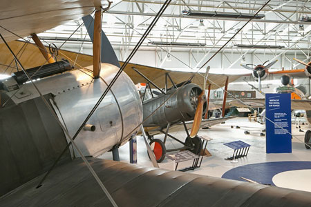 Cosford WW1 exhibition